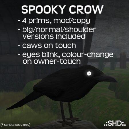 Spooky Crow .:SHD:.